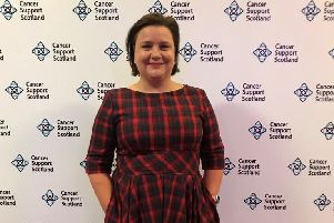 Celebrity support...for Cancer Support Scotland's awareness day on St Andrew's Day, Friday, November 30, has come from Scottish comedian Susan Calman, whose dad Sir Kenneth Calman founded the charity in 1980.