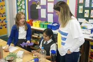 Braidbar youngsters build a caring future
