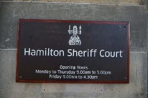The case was called at Hamilton Sheriff Court.