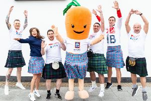 ALDI and Kiltwalk join forces to fuel Glasgow charity walkers