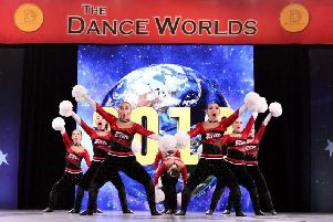 The girls have been working hard on their routine, ready to wow the judges in Orlando.