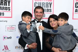 Giffnock is home to the Curry King!