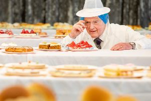 A judge casts his eye over the entries at this year's Scottish Baker of the Year