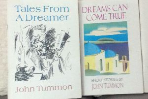 Two of John Tummon's earlier books which can be found in Thornliebank library.