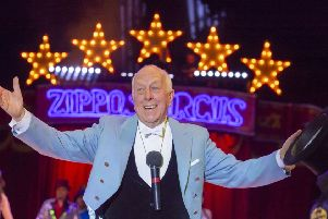 Zippos Circus - hosted by Ringmaster Norman Barrett MBE - is at Queen's Park from June 11 to 16. (Photo: Piet-Hein Out)