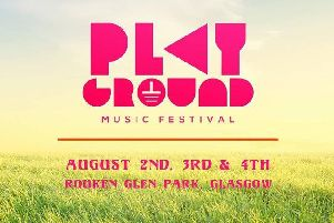 Find out information about the Playground Festival at Rouken Glen