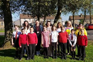 Children from local schools are being encouraged to write a letter to a elderly member of the community.