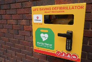 The potentially life-saving machines are the first to be installed by the council and will be available 24 hours a day, sevendays a week to the local public.