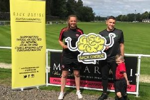 Giffnock Soccer Centre joins forces with mental health charity Back Onside