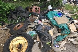 Thousands of complaints have been made about fly-tipping over the last three years.