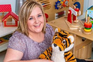 Eileen McGeoch has been working in Early Learning and Childcare since leaving school, and says it is a very rewarding career.
