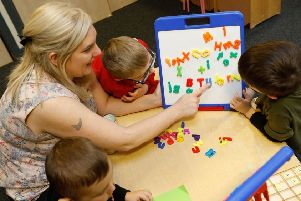 The open day will offer the chance to find out more about early learning and childcare options.