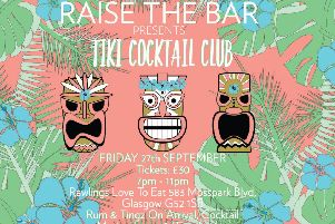 Tropical tunes and plenty of rum at Raise The Bar Glasgow's upcoming Cocktail Club