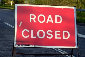 The road will be closed for up to 19 days.