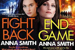 Spend an evening with author Anna Smith at Giffnock Library