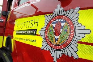Fire fighters tackle blaze at Mearns Primary School in Newton Mearns