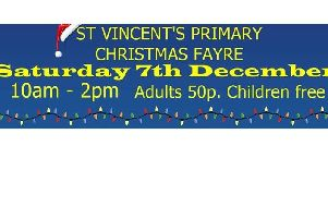 Christmas Fayre at St Vincent's Primary School
