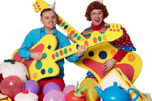 The McDougalls New Year Party show tour comes to Giffnock