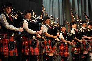 The SSPDT wants to support more pupils in learning to play the pipes (Photo: John Keachie)