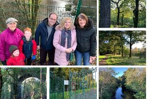 Residents come together before upgrade work at Busby Glen park gets underway
