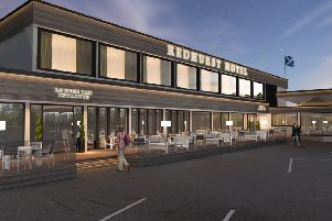 The proposed new look for the Redhurst Hotel.