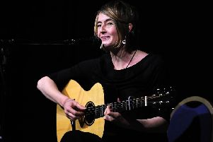 Scottish singer-songwriter Karine Polwart.