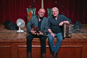 Aly Bain and Phil Cunningham in concert  at Tait Hall, Kelso on Saturday, August 5.