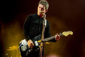 Noel Gallagher at Electric Fields 2018. Photo: Gaelle Beri.