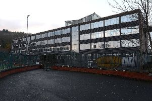 The current Galashiels Academy.