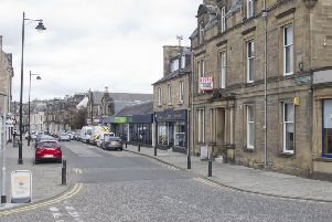 North Bridge Street, Hawick.
