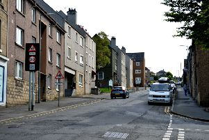The Loan in Hawick.