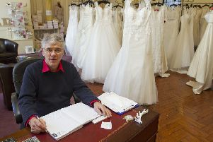 Brian Barry at Borders Brides in Hawick.