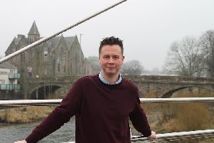Film critic and film-maker, Michael Pattison, who has been appointed creative director of Hawick-based Alchemy Film & Arts.