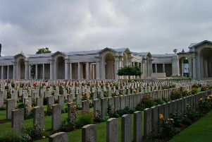 Faubourg d'Amiens Commonwealth War Graves Cemetery
