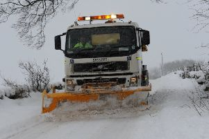 The snow has been causing travel disruption throughout the North-east