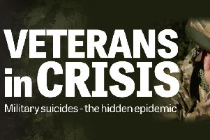 """Hidden epidemic of veteran suicides """"smacks of cover-up"""""""