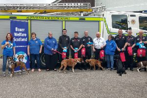 Charity donates kits to Shire fire stations