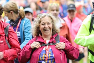 A record-breaking 3200 walkers took part in this year's Kiltwalk.