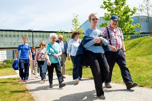 There are 28 organised health walks in Aberdeenshire