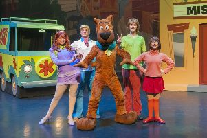 Scooby Scooby-Doo Live! Musical Mysteries are visiting Glasgow.