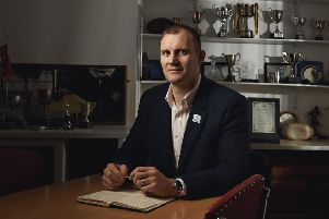 Al Kellock launches the Rugby Force 2017 initiative