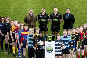 Lenzie Academy are among the participating schools in the 2018 SP Energy Networks Warriors Championship