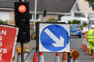 Emergency repairs at Lennoxtown will mean four weeks of delays for drivers
