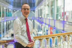 Man with a vision...Dr Gordon Rintoul has overseen the transformation of the museum in the last 15 years and is delighted that it is now the biggest and most visited attraction in the UK, outside of London. (Pic: National Museum of Scotland)