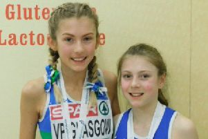 Medal winning sisters Holly (left) and Cara Kirkwood.