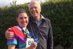 Jo on run for funds in memory of dad