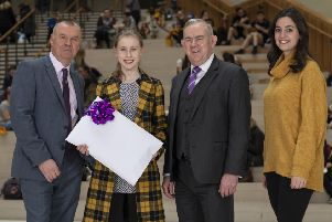 The future is looking  bright for Bearsden student Heather