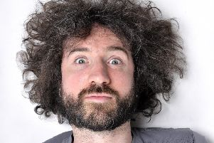 Musical comedian Micky P Kerr is touring the UK with his new show.