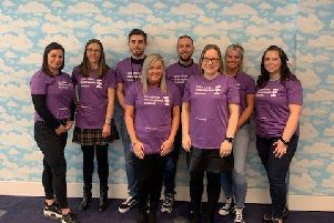 Staff's 'Mighty Stride' to help a great cause