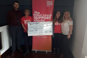 Bishopbriggs hotel event raises £4,500 for cancer care
